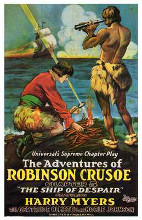 Adventures of Robinson Crusoe poster print by  Entertainment Poster