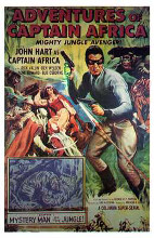 Adventures of Captain Africa poster print by  Entertainment Poster