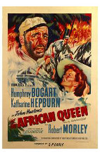 African Queen, the poster print by  Entertainment Poster