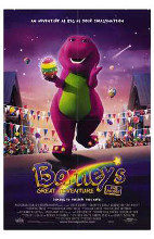 Barney's Great Adventure poster print by  Entertainment Poster