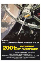 2001: a Space Odyssey poster print by  Entertainment Poster