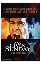 Any Given Sunday poster print by  Entertainment Poster