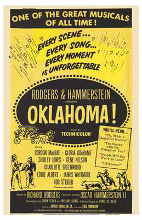 Oklahoma poster print by  Entertainment Poster