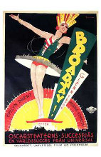 Broadway poster print by  Entertainment Poster