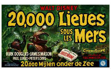 20,000 Leagues Under the Sea poster print by  Entertainment Poster