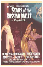Stars of the Russian Ballet poster print by  Entertainment Poster