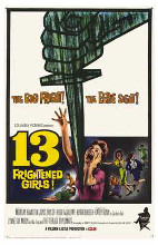13 Frightened Girls poster print by  Entertainment Poster