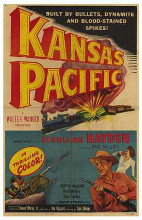 Kansas Pacific poster print by  Entertainment Poster