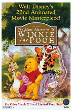 Many Adventures of Winnie the Pooh poster print by  Entertainment Poster