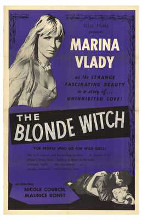 Blonde Witch poster print by  Entertainment Poster