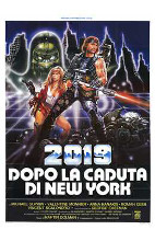 2019: the Fall of New York poster print by  Entertainment Poster