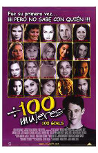 100 Girls poster print by  Entertainment Poster