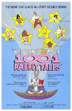 Bugs Bunny's 1001 Rabbit Tales poster print by  Entertainment Poster