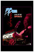 Bb King Live At the Apollo poster print by  Entertainment Poster
