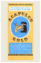 Acapulco Gold poster print by  Entertainment Poster