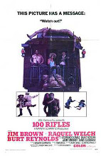 100 Rifles poster print by  Entertainment Poster