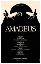 Amadeus (Broadway Play) poster print by  Entertainment Poster