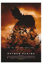 Batman Begins poster print by  Entertainment Poster