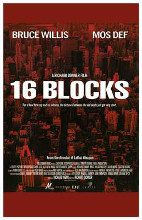 16 Blocks poster print by  Entertainment Poster
