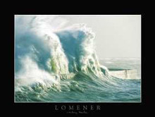 Lomener poster print by  Hache