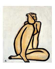 Seated Nude poster print by  Unknown