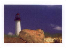 Cape May Lighthouse NJ poster print by  Farber