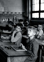 Scholastic Information poster print by Robert Doisneau