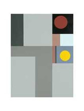 1938 (Composition) poster print by Ben Nicholson