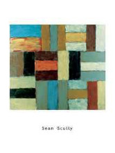 Wall Of Light Light 1999 poster print by Sean Scully