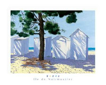 Island of Noirmoutier poster print by  Deuil