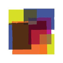 Colors In Squares 1 poster print by  Unknown