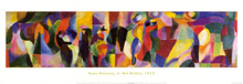 Tango Bal poster print by Sonia Delaunay