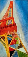 Eiffel Tower poster print by  Unknown
