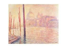 View Of Venice poster print by Claude Monet