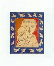 New Year poster print by Pablo Picasso