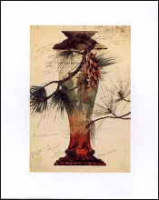Model of a Crystal Vase poster print by Emile Galle