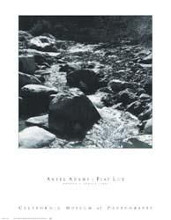 Mountain Stream poster print by Ansel Adams