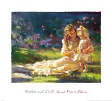 Mother and Child poster print by Anne Marie Oborn