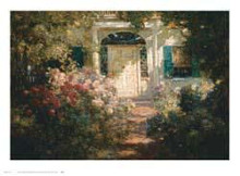 Doorway and Garden poster print by Abbott Fuller Graves