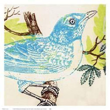 Bluebird poster print by Swan Papel