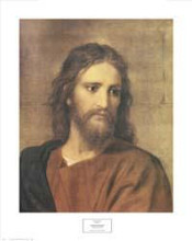 Christ at Thirty-Three poster print by Heinrich Hofman