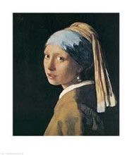Girl with a Pearl Earing poster print by Jan Vermeer