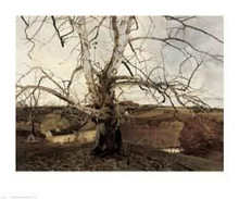 Pennsylvania Land poster print by Andrew Wyeth
