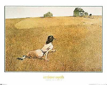 Christina's World poster print by Andrew Wyeth