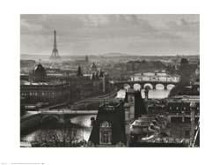 River Seine and the City of Paris (1991) poster print by Peter Turnley