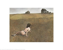 Christina's World, c.1948 poster print by Andrew Wyeth