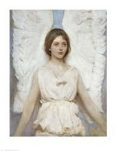 Angel poster print by Abbott Handerso Thayer