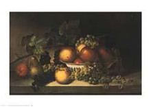 Fruit poster print by James Peale