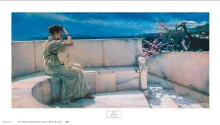 Expectations poster print by Sir Lawrence Alma-Tadema