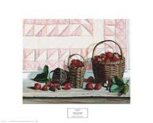Strawberry Time poster print by Pauline Eble Campanelli